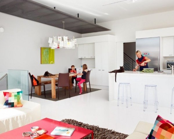 Ilyen az igazi amerikai konyhás nappali – képek  NLCafé