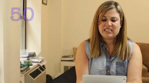 Ilyen arcot vág egy nő, aki végignéz 90 péniszt – videó