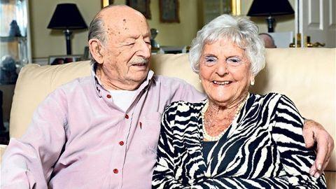 80. házassági évfordulóját ünnepelte egy brit pár – fotó