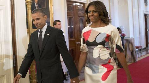 Obama részt vett szakácsának esküvőjén