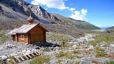 Orosz kápolna 5000 méteren