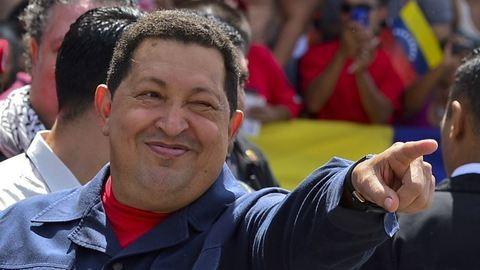Parfümöt kap Che Guevara és Chávez