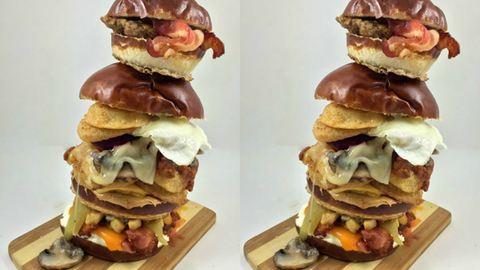 Ilyen a dupla hamburger, újratöltve
