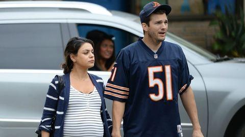 Megszületett Mila Kunis és Asthon Kutcher lánya