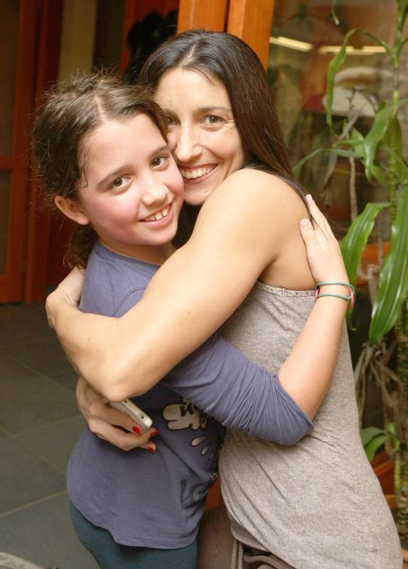 Rubint Réka önmagát látja lányában, Larában