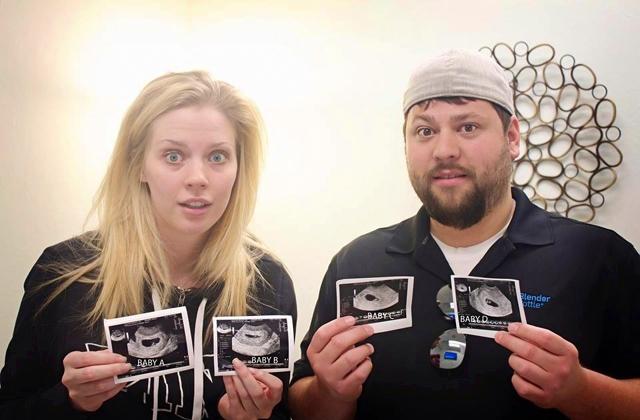 Így reagáltak a szülők arra, hogy négyes ikreik lesznek - fotók