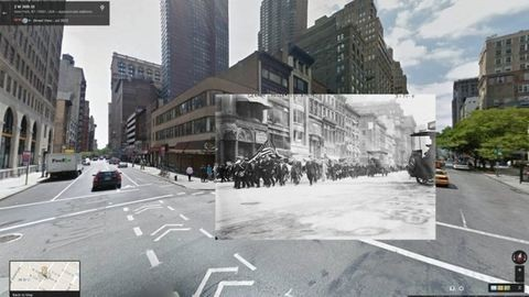 A Google Street View visszavisz az első világháborúba