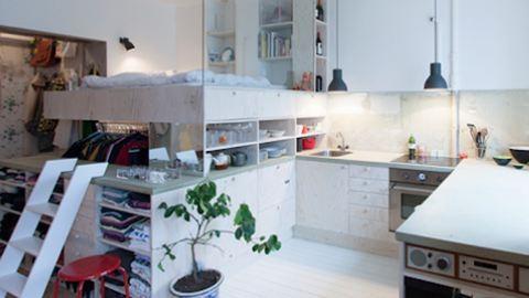 8 négyzetméteres Amerika legkisebb lakása, és még menő is