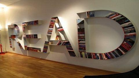 15 elképesztően ötletes könyvespolc