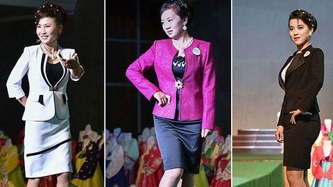 Ilyen egy divatbemutató Észak-Koreában – fotók