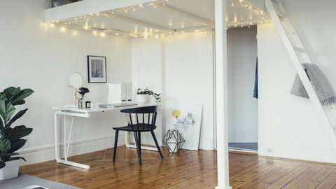Aprócska svéd lakás, ami télen is világos