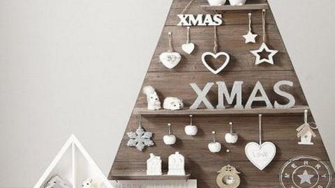 Fából épített karácsonyfák – fotók
