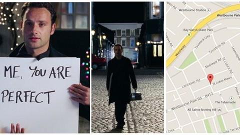 10 hely Londonban, az Igazából szerelem szerelmeseinek