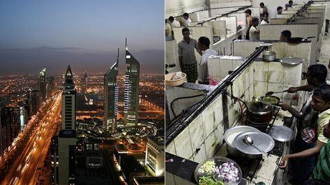 A luxus árnyoldala: így élnek Dubaj szegényei