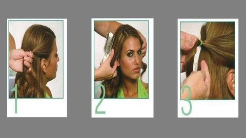 Egyszerű frizura: így készül a fonott lófarok