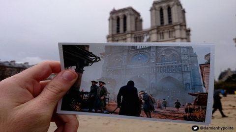 Párizsi játékhelyszínek a valóságban