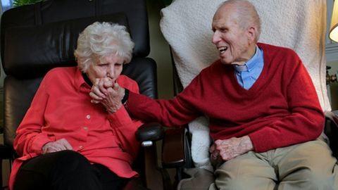 72 év házasság után is szerelemben élnek