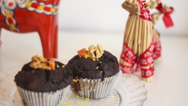 Karácsonyi sütik muffinformában