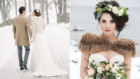 Karácsonyi esküvő? Miért ne?! – gyönyörű fotók