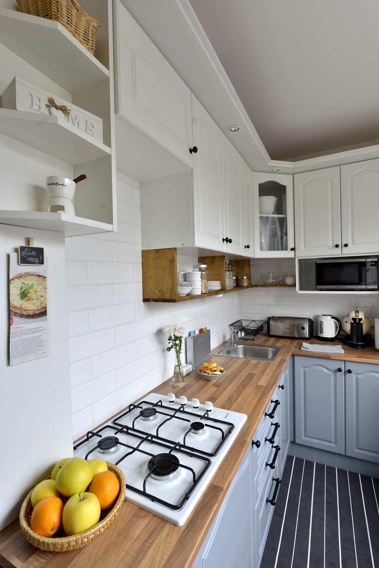 Előtte és utána: ilyen egy szépen felújított, otthonos panellakás  NLCafé