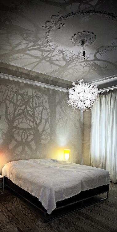 surrealistische tapeten gelbe und gr ne streifen tapeten pinterest dekoration deko und. Black Bedroom Furniture Sets. Home Design Ideas