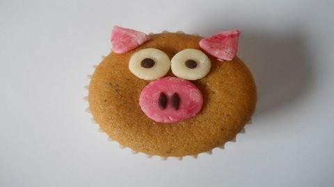 Újévi malacos muffin