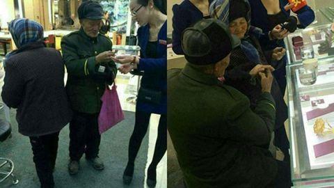 80 éves koráig spórolt, hogy gyémántgyűrűt vehessen a feleségének