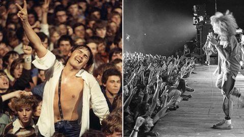 Így bulizik az ország – koncertképek az elmúlt 80 évből