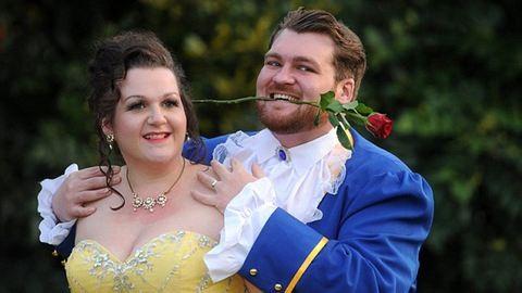 Ilyen egy szó szerint mesés esküvő – fotók