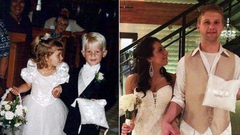 Gyerekként egy esküvőn találkoztak, 20 évvel később összeházasodtak