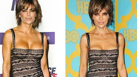 10 év után viselte ugyanazt a ruhát Lisa Rina, de ez a fotó nem ezért érdekes