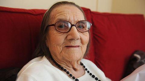 104 éves, mégsem őszül a dédi