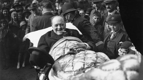 "Akit elvitt a ""fekete kutya"" – 50 éve halt meg Winston Churchill"