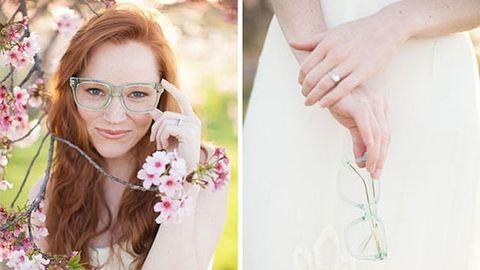 15 csodaszép, szemüveges menyasszony