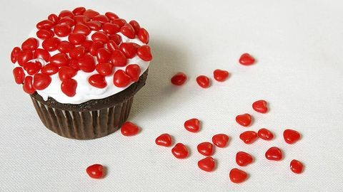 Valentin-napi 10 perces cupcake-recept