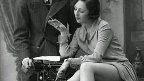 A titkárnő a férfiak álma – erotikus fotók 1920-ból
