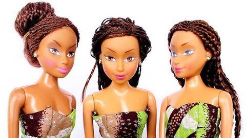 Imádják a kislányok az afrikai Barbie-t – fotók
