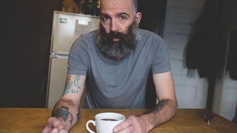 A kisfia rajzait tetováltatja magára az apa – fotók