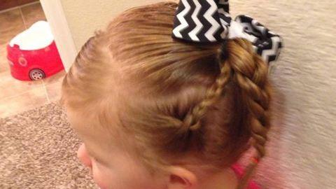 Menő frizurákat készít kislányának a szingli apuka – fotók