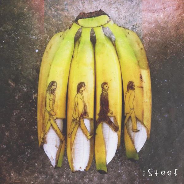 Így lesz a banánból műalkotás - galéria