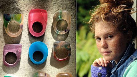 Csodaszép kiegészítőket készít a 11 éves kislány – fotók