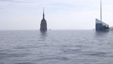 Ilyen lenne a világ, ha a víz venné át rajta az uralmat – ijesztő képek
