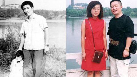 35 éven át fotózkodott ugyanott apa és lánya – képek