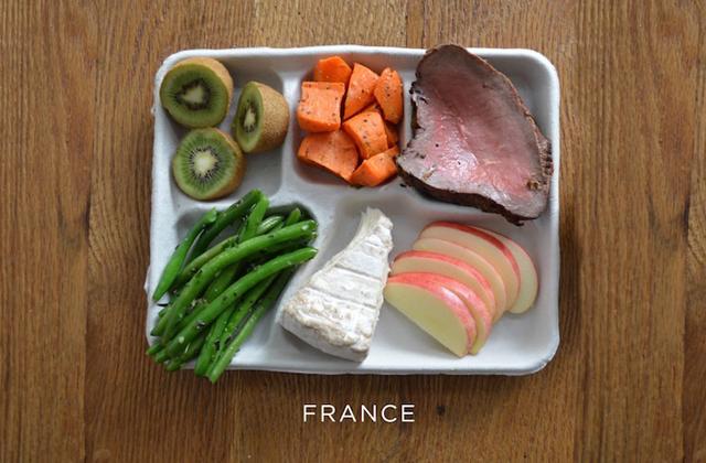 Ezt eszik az iskolai menzákon a világ körül - fotók