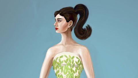 Ilyen lenne Audrey Hepburn, ha ma lenne fiatal – képek