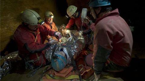 Egy amerikai turista szenvedett balesetet a Mátyás-hegyi barlangban