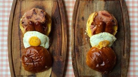 Ahogy ez a pár reggelizik, nem reggelizik úgy senki más! – elképesztő fotók