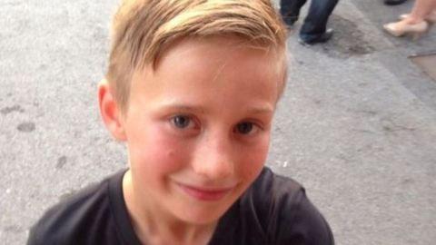 Egy súlyos focibaleset mentette meg a 9 éves kisfiú életét