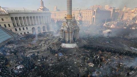 Akkor és most: 1 éve kezdődött a harc Kijevben a Majdan téren