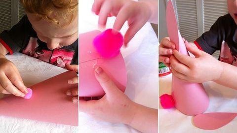 Húsvéti dekoráció papírból: gyerekek is elkészíthetik